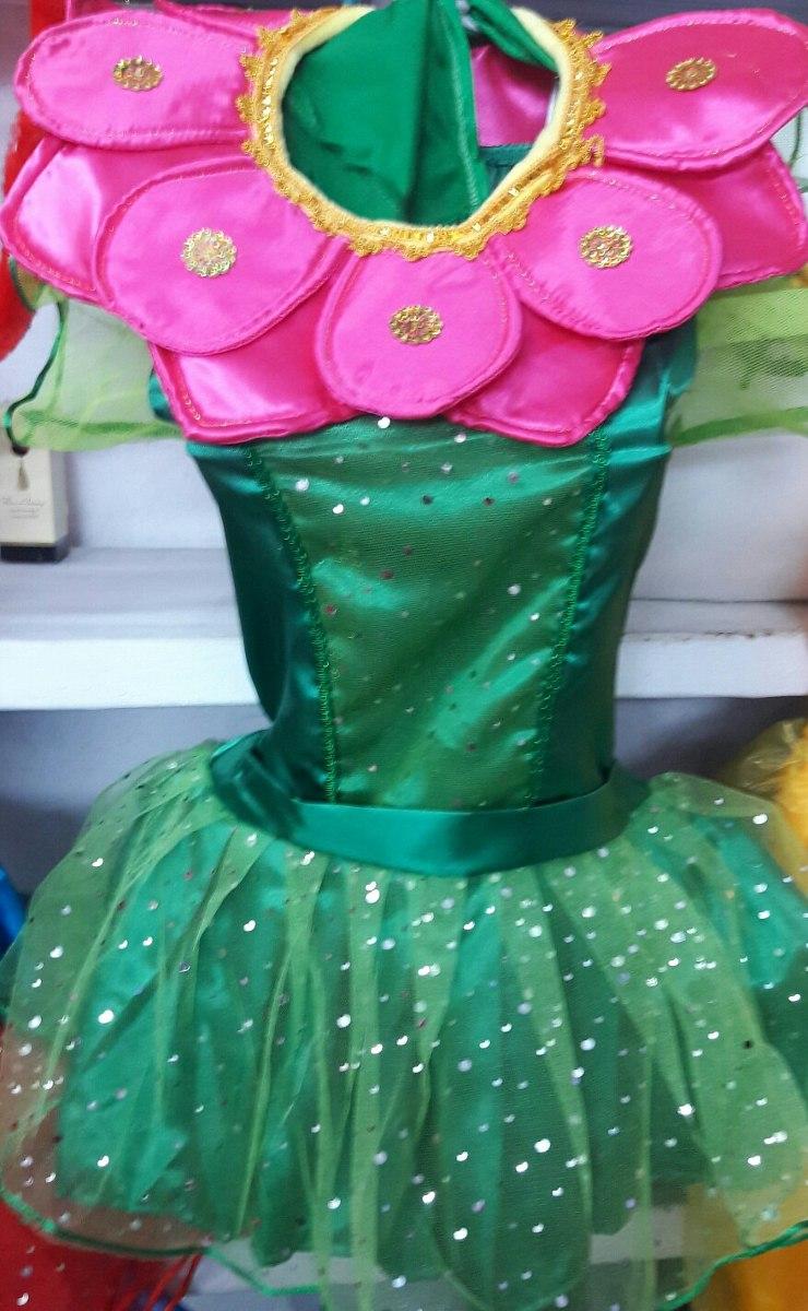 Disfraz De Flor Estilo Tutu Para Ninas S 55 00 En Mercado Libre