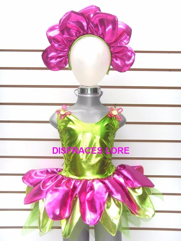 Disfraz De Flor Tutu Diadema Mallas Disfraces De Flores Niña ... 7c180fc473a