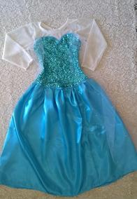 Disfraz De Frozen Elsa Vestido Disfraces Para Niñas