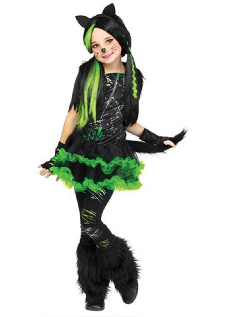 Disfraz De Gato Fun World De Halloween Para Nio 121046 en