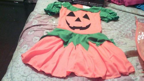 disfraz de halloween de calabaza