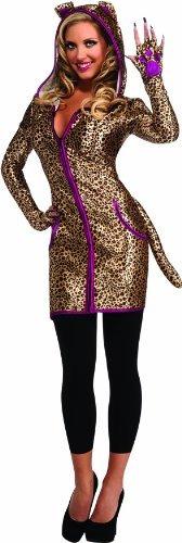 disfraz de halloween rubie co sensations urban leopard vest