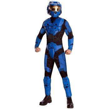 disfraz de halo azul para adultos envio gratis 1