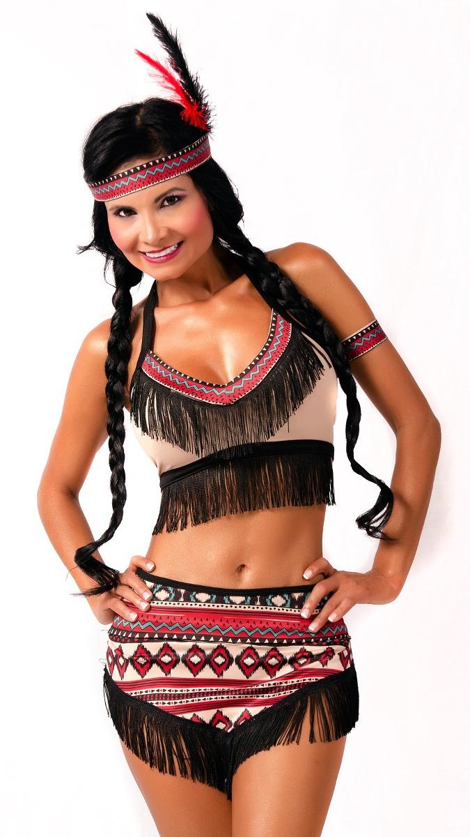 Disfraz De India Sexy Para Mujer Disfraz Sensual Halloween