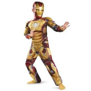 disfraz de iron man  para niños envio gratis 5