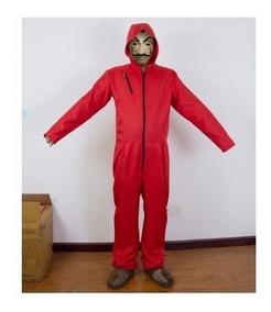 a1584deb69a Mono Rojo La Casa De Papel - Disfraces y Botargas en Mercado Libre ...