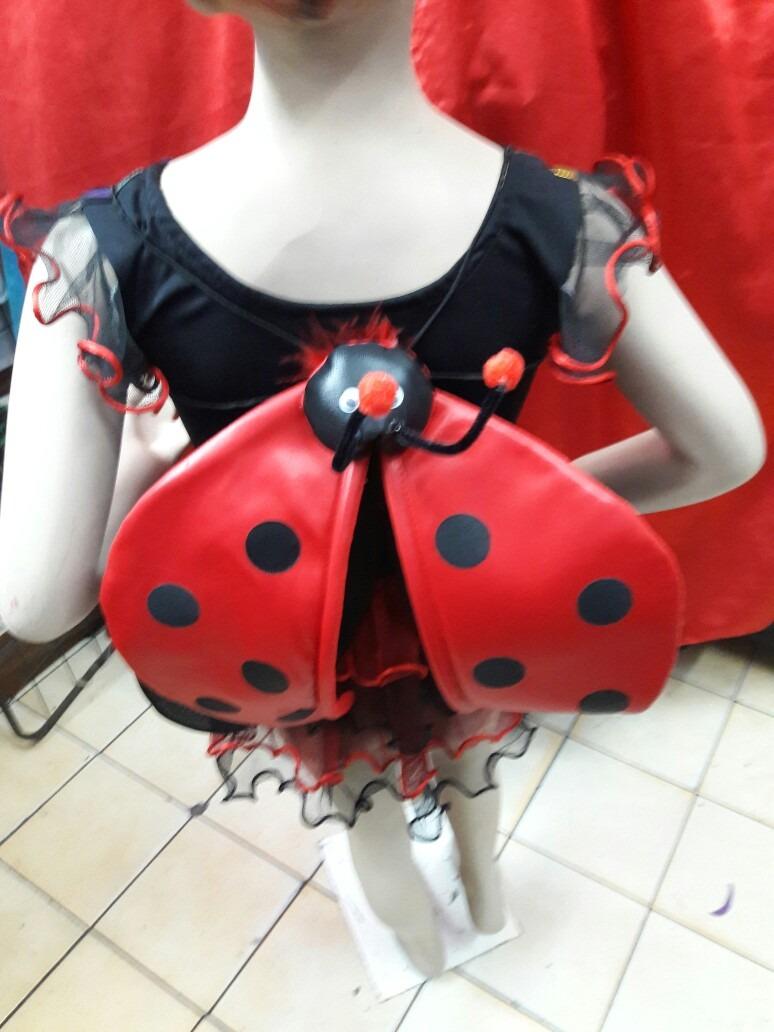 Disfraz De La Mariquita Con Alas Para Nias S 5500 en Mercado Libre