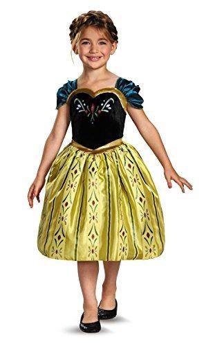disfraz de la princesa anna frozen para niña un solo color