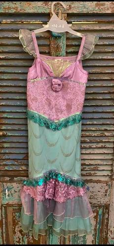 disfraz de la sirenita original de disney.