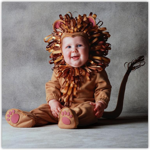 disfraz de leon  bebe primavera animales 6 a 24  meses
