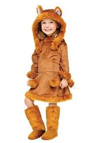 Disfraz De Leoncita Calientito Para Nina Halloween Mediano