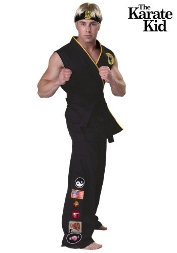 disfraz de lujo de karate kid cobra kai para adultos 2