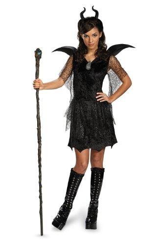 Vestido Niña Deluxe Malefica Negro Disfraz Para Disguise De 0wnkOP