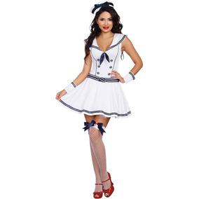 6364ed813 Disfraz De Marinera Sexy Para Mujer Talla: Xl Halloween