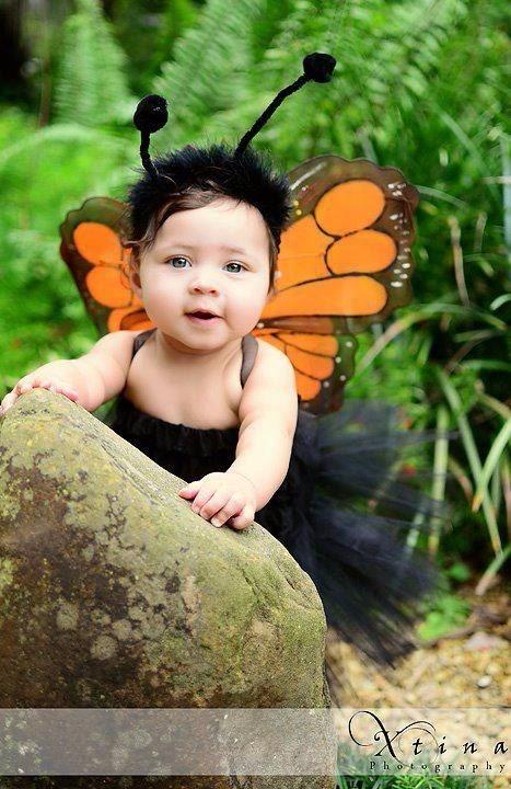 disfraz de mariposa monarca alas y tutu para nia o mujer