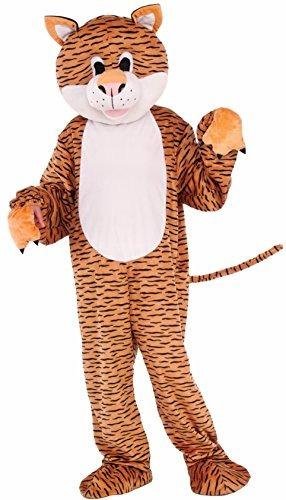 disfraz de mascota de tigre del niño de las novedades del