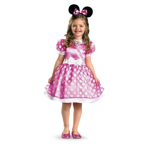 disfraz de minnie mouse clubhouse clásico- 4-6 x
