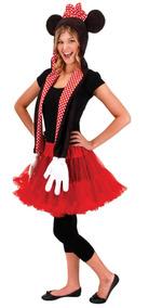 Disfraz De Minnie Mouse Para Mujer Talla Unica Halloween