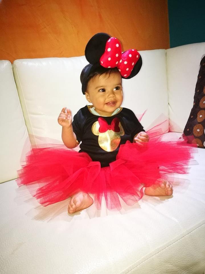 Disfraz de minnie mouse tutu para bebe y ni a halloween - Disfraz halloween bebe 1 ano ...