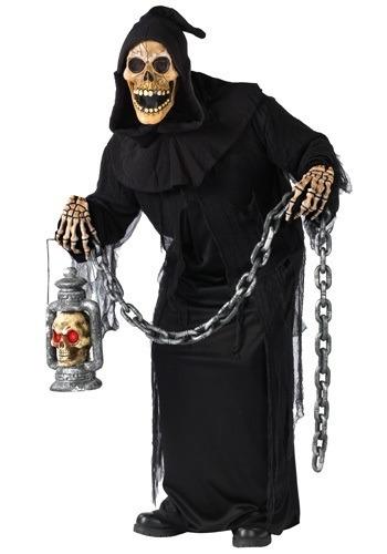 disfraz de muerte esqueleto calavera para adultos 3