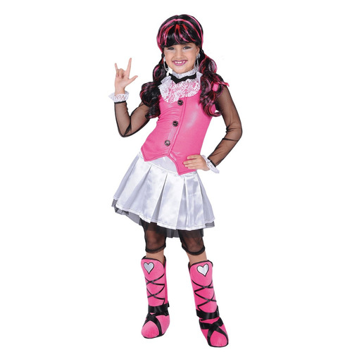 disfraz de niña dràcula monster carnavalito talla 2
