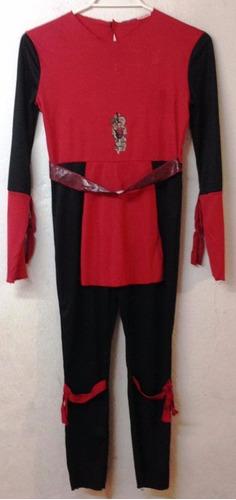disfraz de ninja talla 8