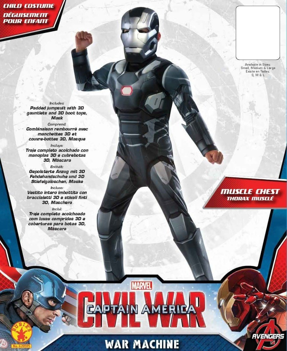 67ff46e51af disfraz de niño iron man civil war musculoso rubie s. Cargando zoom.