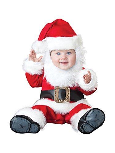 Disfraz De Papa Noel Para Bebe Talla 3 6 Meses Rojo 325900 En - Disfraces-papa-noel-bebe