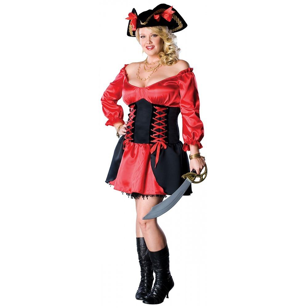 57437c4dde3 disfraz de pirata sexy para mujer, talla: plus, halloween. Cargando zoom.