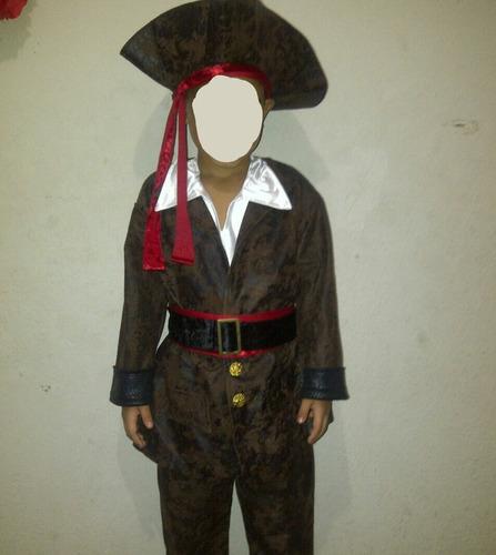 disfraz de pirata talla 4