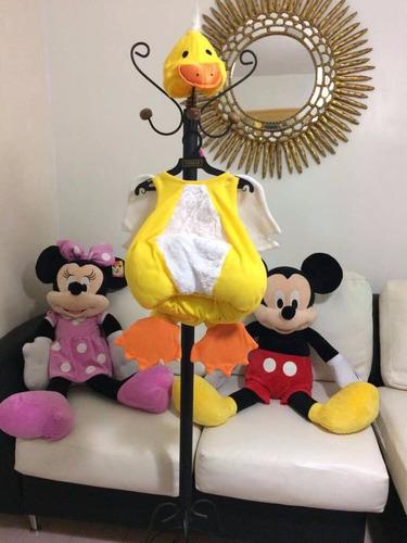 disfraz de pollito para niña/niño de 1-2años