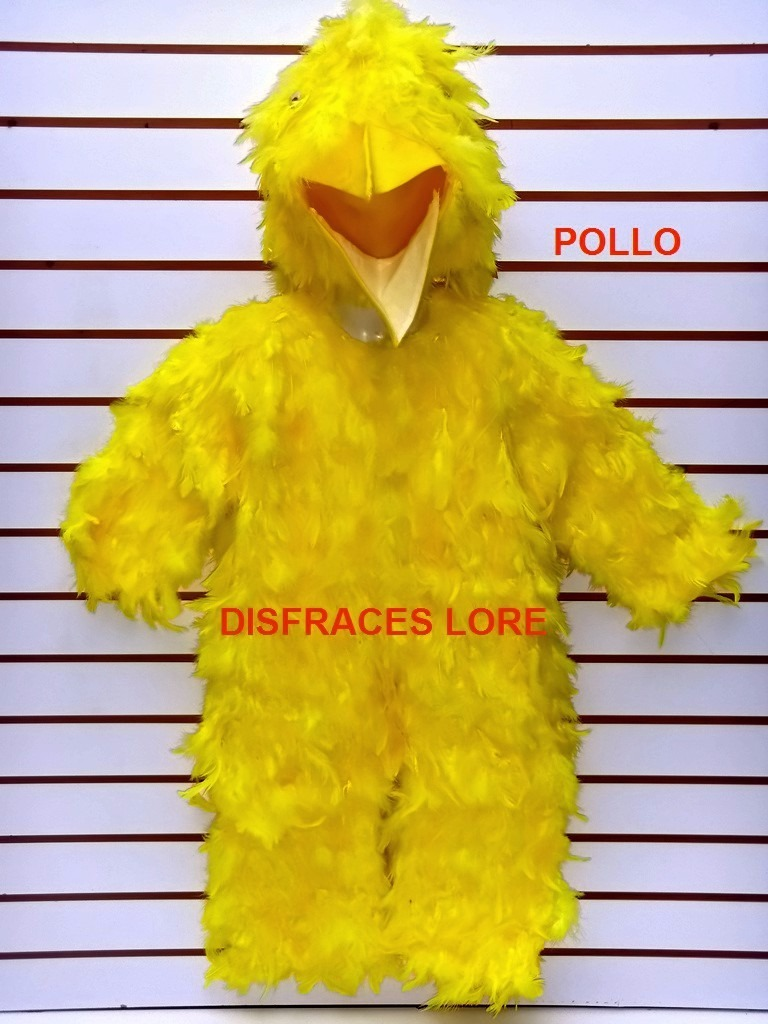 disfraz de pollo pluma natural disfraces primavera pollito