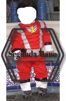 disfraz de power rangers rojo