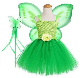 1239334a4 Disfraz De Primavera Mariposa Verde Colorida Tutu Dreams
