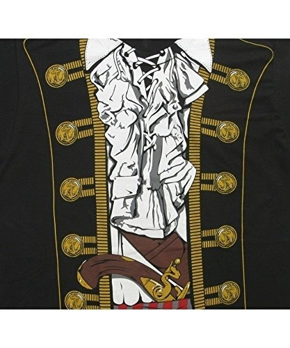 disfraz de príncipe pirata impacto mens tee (medio)