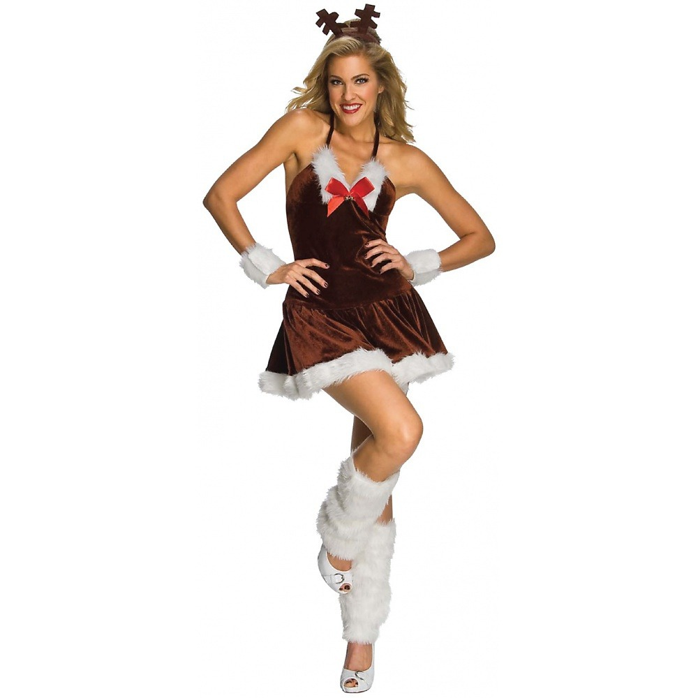 Disfraz De Reno Navideno Sexy Para Mujer Halloween 202538 En - Disfraz-reno