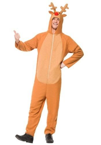 disfraz de rodolfo el reno de navidad venado para adultos 4