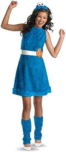disfraz de sesame street cookie monster teen girls large1012