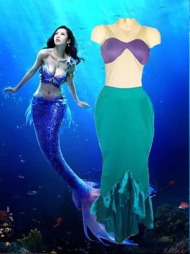 disfraz de sirena ch/m