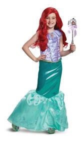 Disfraz De Sirenita Ariel Talla 3 4 Para Niña Vestido