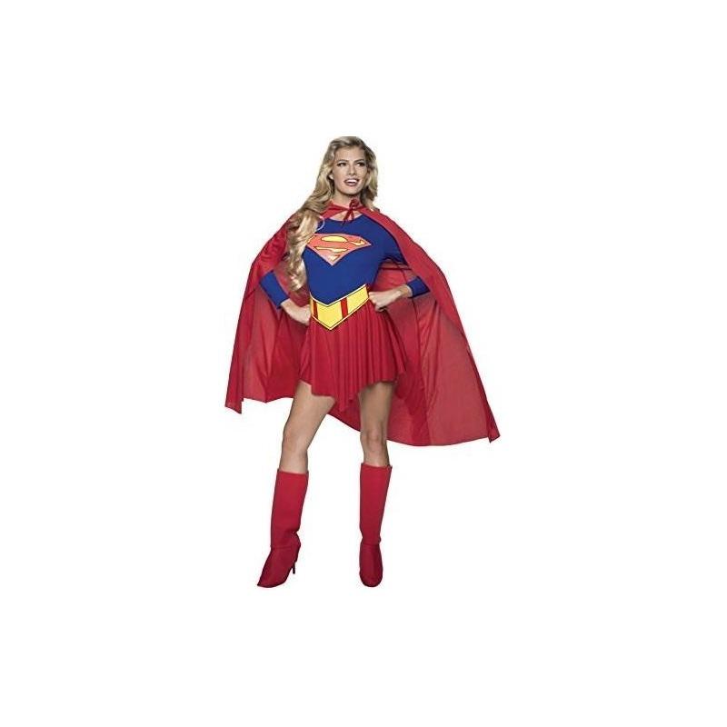 Disfraz De Supergirl Dc Comics Deluxe 62f00dc0b6e2