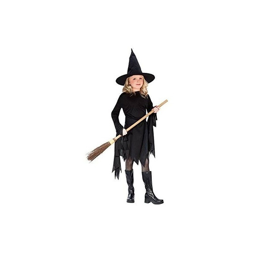 disfraz de witchy witch black child classic grande (12-14)