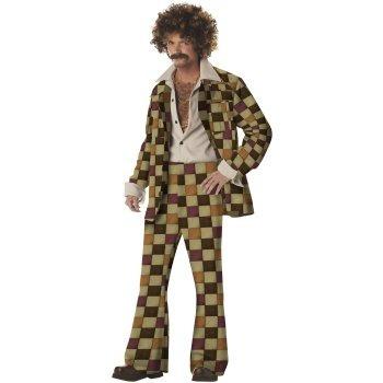 disfraz disco para adultos 70's retro envio gratis 6