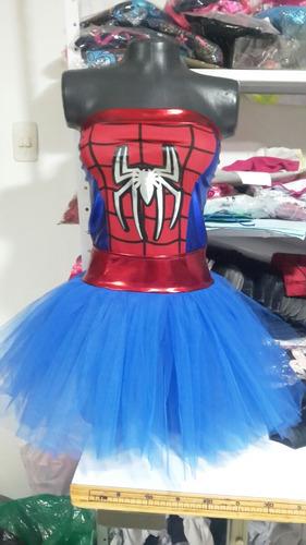 disfraz disfraces dama spider girl tutu sexy