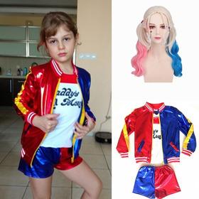 Disfraz Disfraces Harley Quinn Escuadron Suicida Halloween