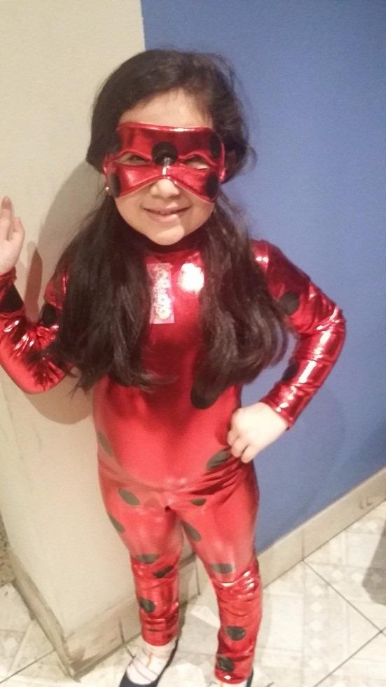 Disfraz Disfraces Ladybug Halloween Niñas Peluca Latex - S/ 75,00 en Mercado Libre