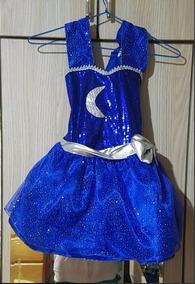 Disfraz Disfraces Soy Luna Vestido Calabaza Halloween Niña