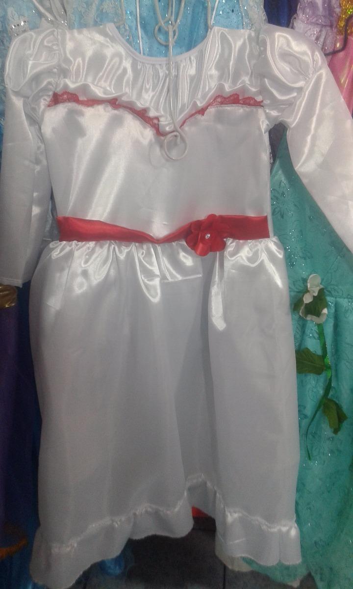 Peluca Niñas Halloween Vestido Annabelle Disfraces Disfraz IgbvY7yf6