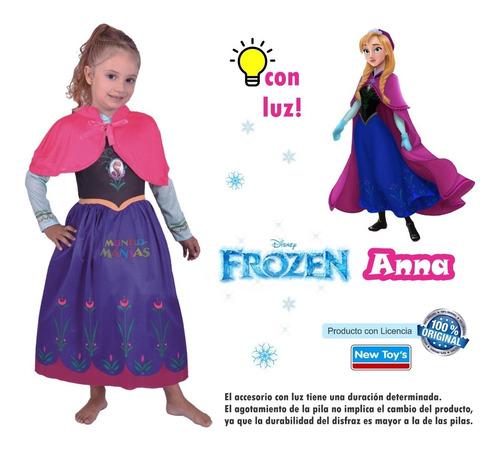 disfraz disney princesas sofia rapunzel frozen minnie luz
