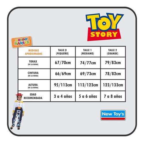 disfraz disney toy story jessie original newtoys mundomanias